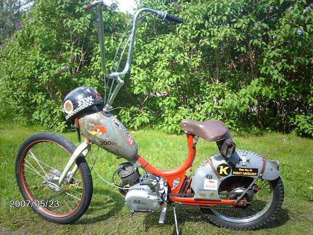 Custom moped 11