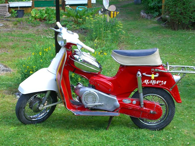 Moped puch 17