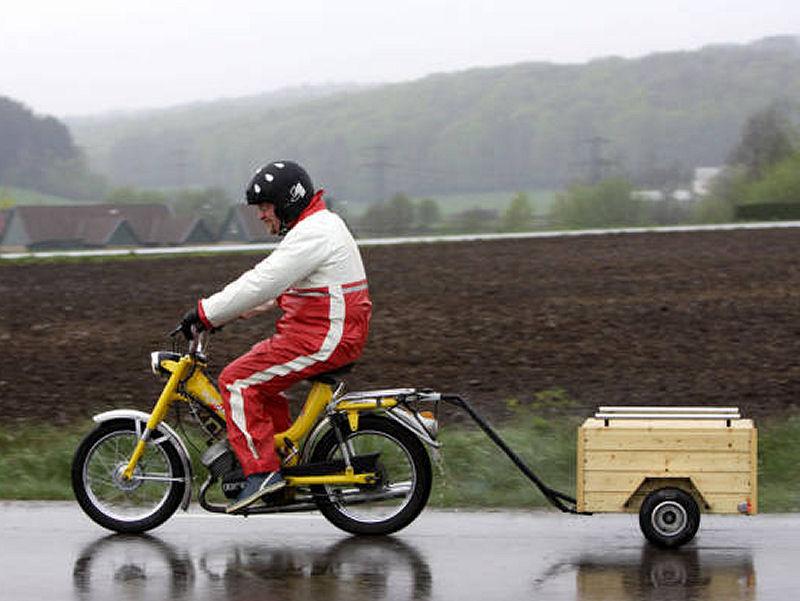 Custom moped 12