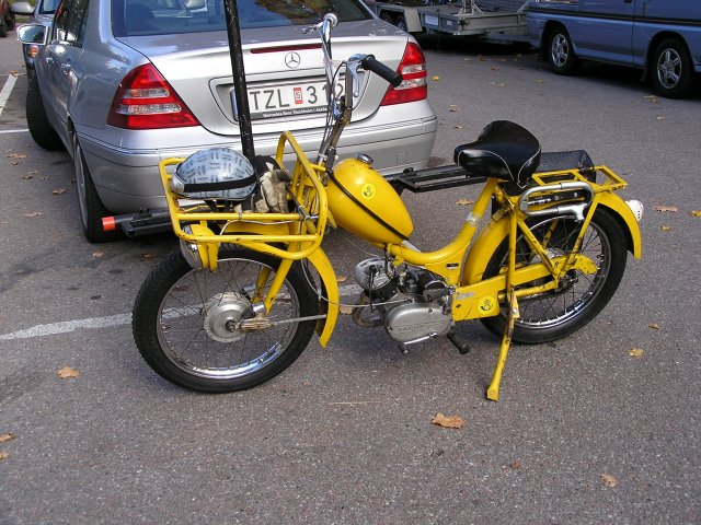 Moped puch 14